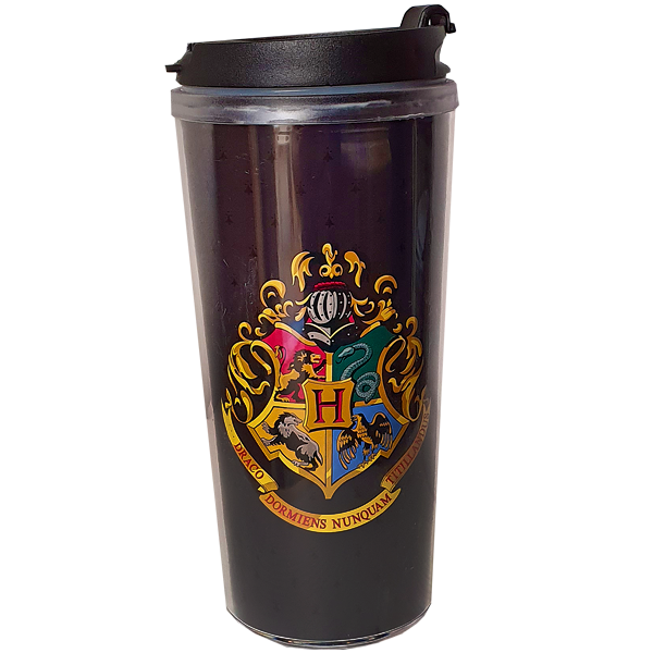 Harry Potter - Travel Mug Hogwarts Logo