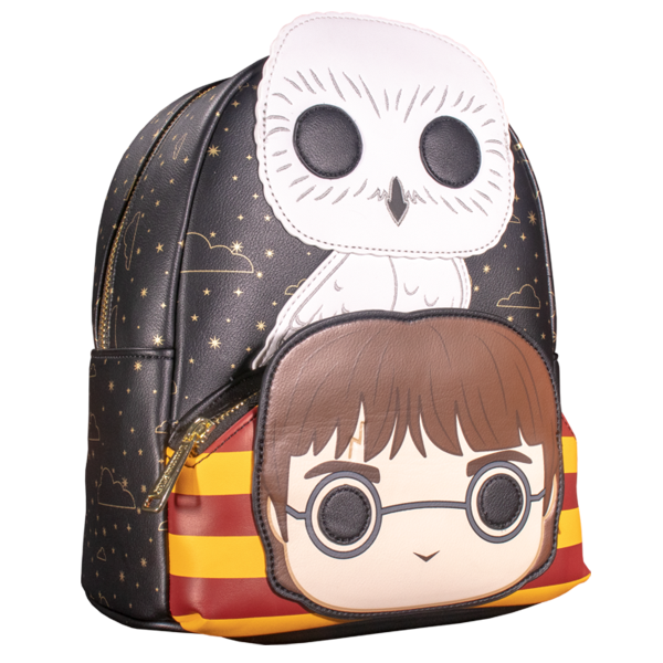 "Harry Potter - Harry & Hedwig Pop! Cosplay 10"" Faux Leather Mini Backpack"