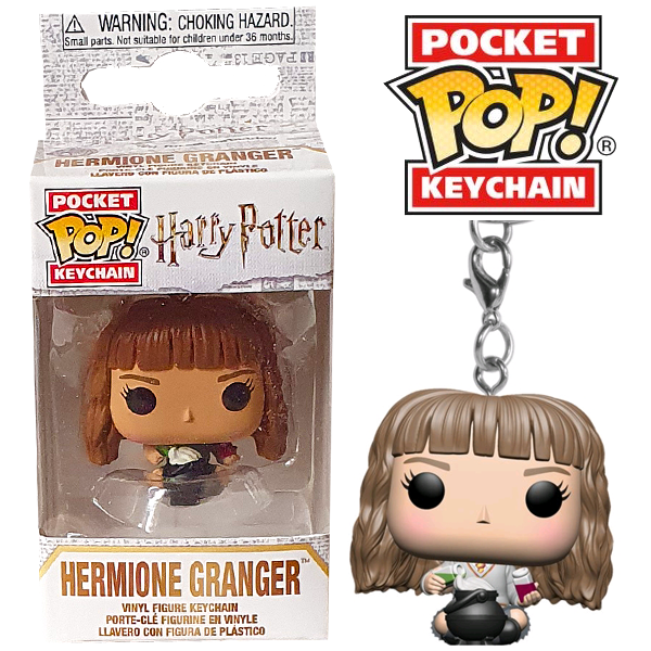 Harry Potter - Hermione Granger with Cauldron Pocket Pop! Keychain