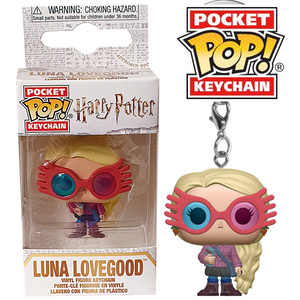 Harry Potter - Luna Lovegood Pocket Pop! Keychain