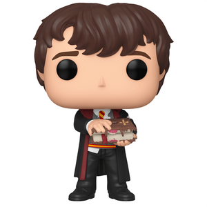Harry Potter - Neville Longbottom with Monster Book Pop! Vinyl Figure