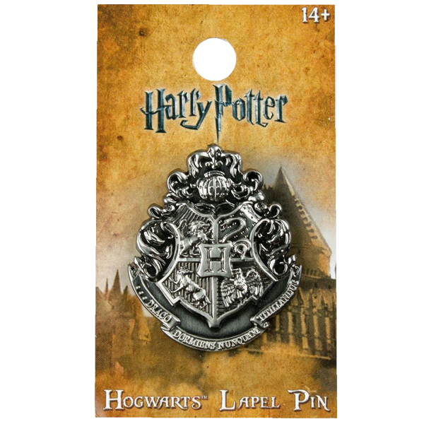 Harry Potter - Hogwarts Logo Lapel Pin