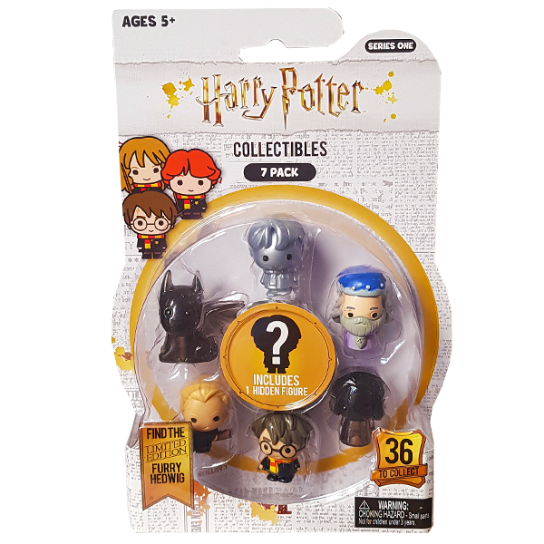Harry Potter - Collectable Pencil Topper 7-Pack Set 1