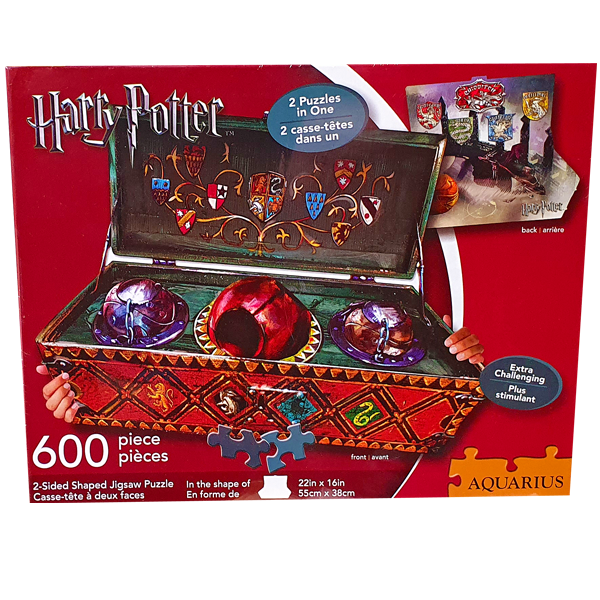 Harry Potter - Jigsaw Puzzle 600 Pieces Double Sided - Quidditch