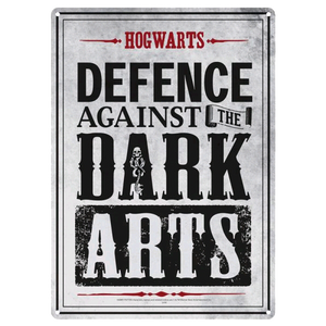 Harry Potter - Small Tin Sign Defence Against Dark Arts