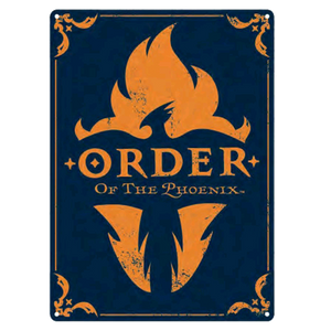 Harry Potter - Large Tin Sign Order of the Phoenix