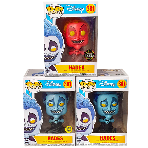 Disney - Hades Chase Pop! Vinyl Figures Bundle