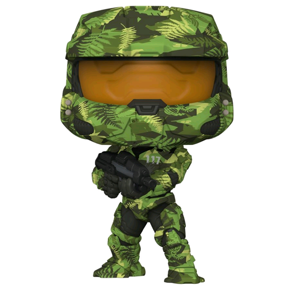 Halo Infinite - Master Chief with MA40 Assault Rifle in Hydro Deco US Exclusive Pop! Vinyl Figure