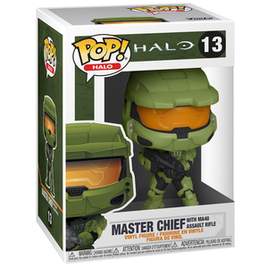 Halo Infinite - Master Chief with MA40 Assault Rifle Pop! Vinyl Figure