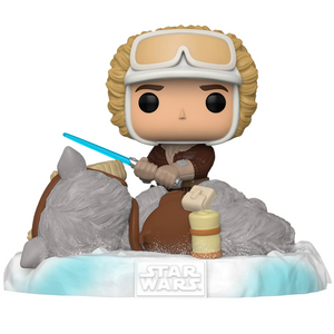 Star Wars The Empire Strikes Back - Han Solo with Tauntaun US Exclusive Deluxe Pop! Vinyl Figure
