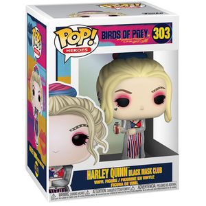 Birds of Prey - Harley Quinn Black Mask Club Pop! Vinyl Figure