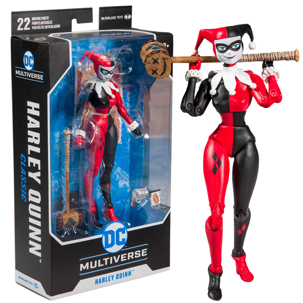 "DC Multiverse Batman - Harley Quinn (Classic) 7"" Action Figure"