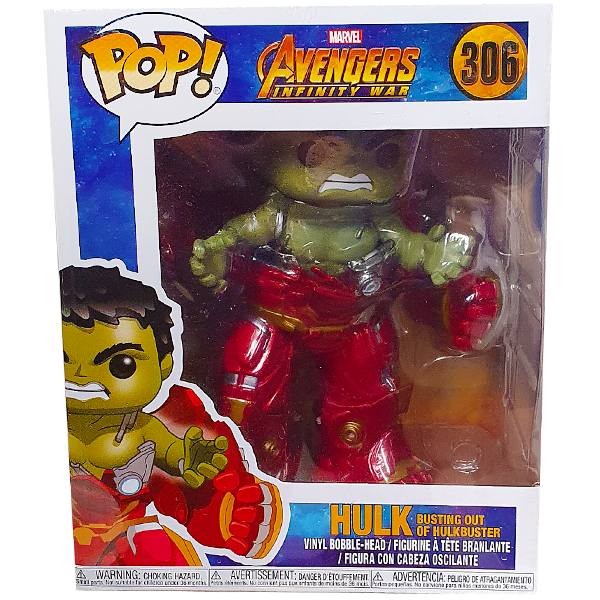 Avengers Infinity War - Hulk Busting Out of Hulkbuster US Exclusive Pop! Vinyl Figure