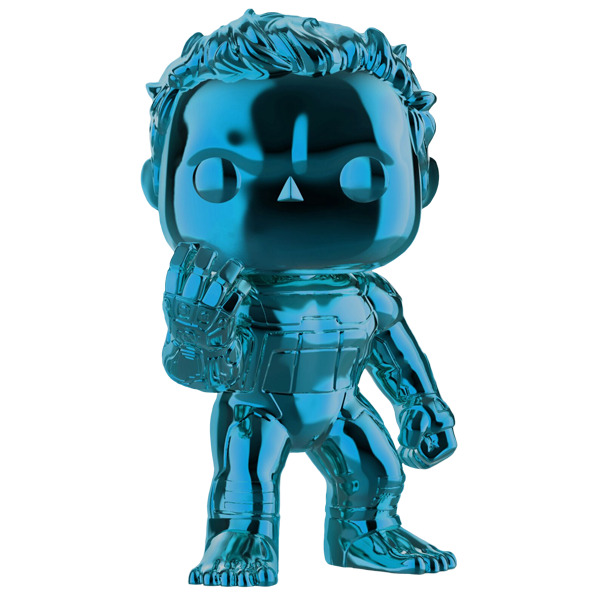 Avengers Endgame - Hulk Blue Chrome US Exclusive Pop! Vinyl Figure