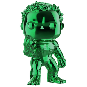 Avengers Endgame - Hulk Green Chrome US Exclusive Pop! Vinyl Figure