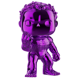 Avengers Endgame - Hulk Purple Chrome US Exclusive Pop! Vinyl Figure