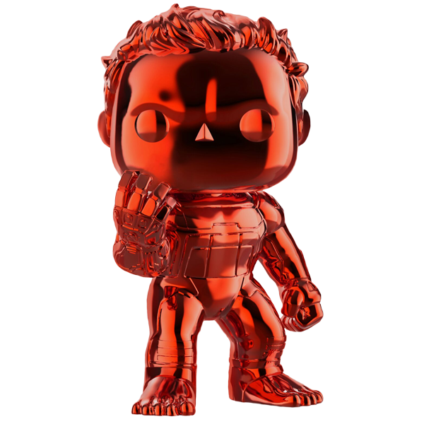 Avengers Endgame - Hulk Red Chrome US Exclusive Pop! Vinyl Figure