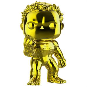 Avengers Endgame - Hulk Yellow Chrome US Exclusive Pop! Vinyl Figure