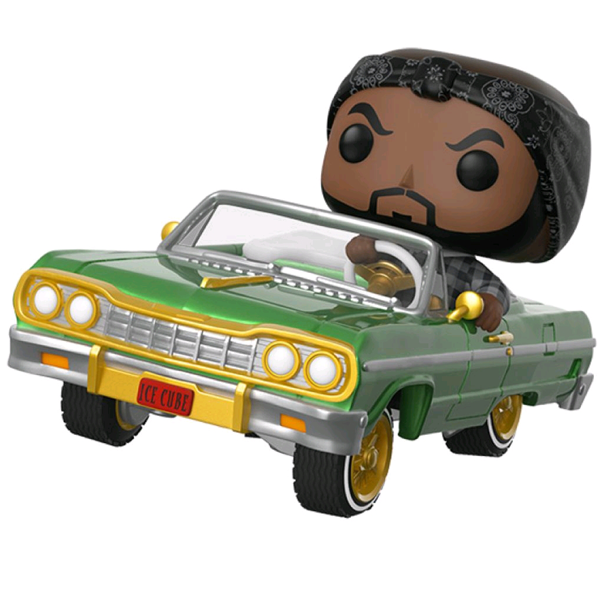 Ice Cube - Ice Cube with Impala Pop! Ride Vinyl Figure