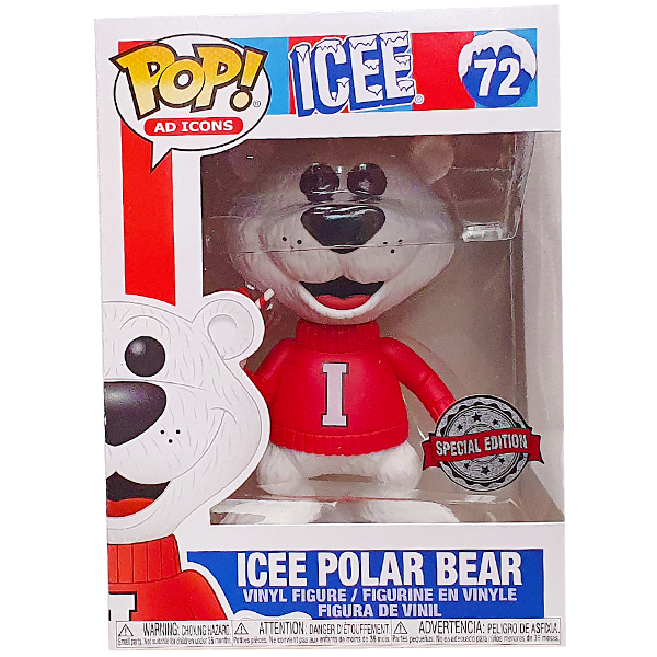 Ad Icons - Icee Polar Bear Cyber Monday Exclusive Pop! Vinyl Figure
