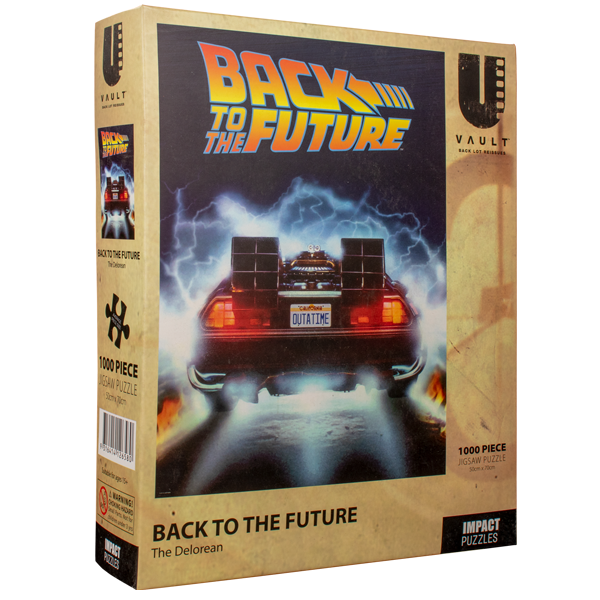 Back to the Future - Jigsaw Puzzle 1000 Pieces The Delorean