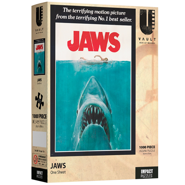 Jaws - Jigsaw Puzzle 1000 Pieces One Sheet