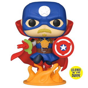 Marvel Infinity Warps - Soldier Supreme Glow US Exclusive Pop! Vinyl Figure