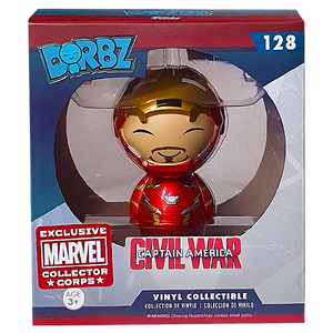 Captain America Civil War - Iron Man (Unmasked) MCC Exclusive Dorbz