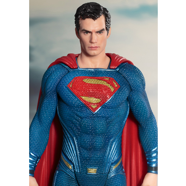 Justice League Movie - Superman 1:10 Scale ArtFX+ Statue