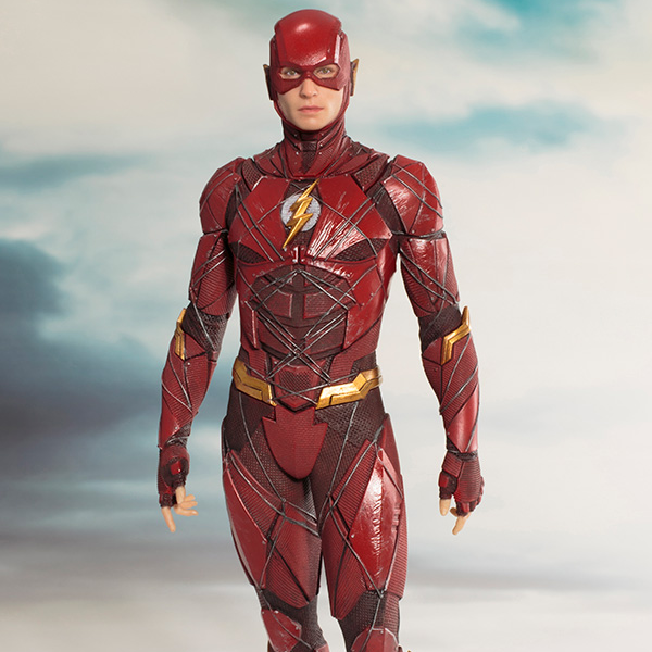 Justice League Movie - The Flash 1:10 Scale ArtFX+ Statue