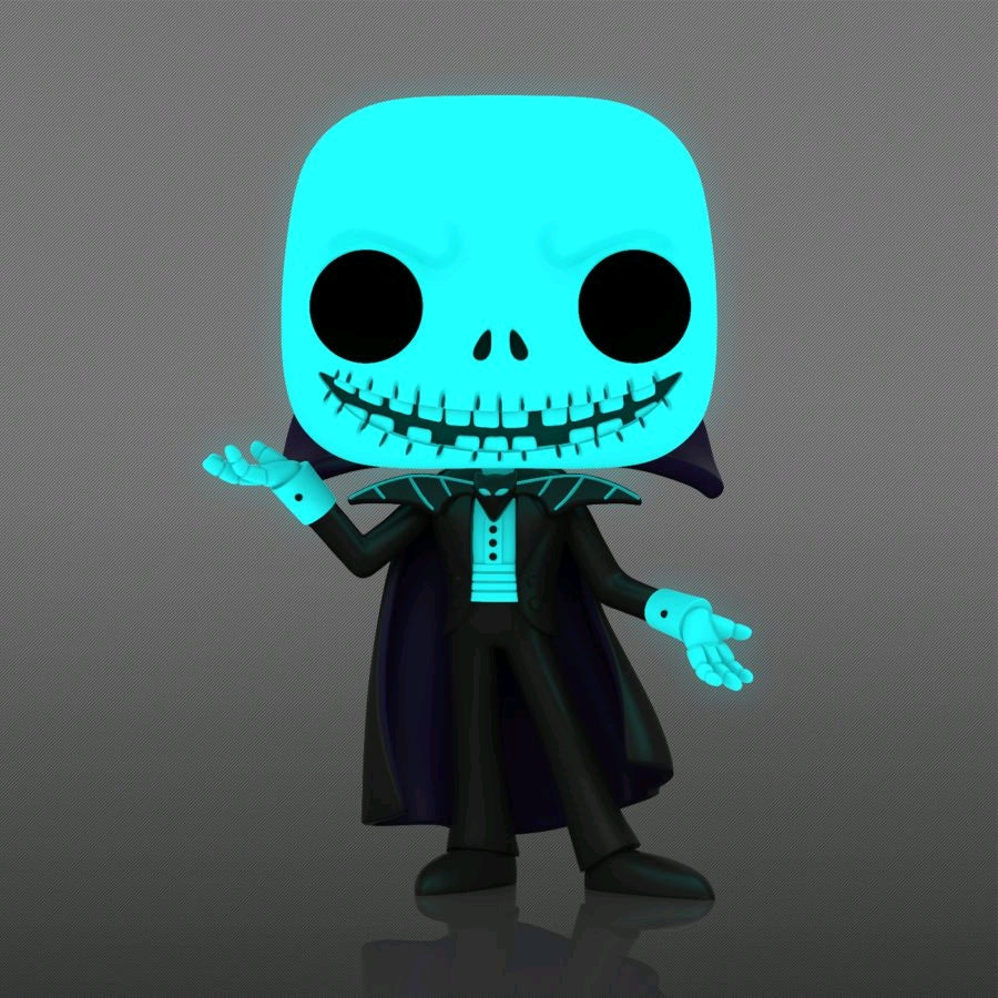 Disney - Vampire Jack Skellington Glow US Exclusive Pop! Vinyl Figure