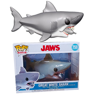 "Jaws - Great White Shark (with Diving Tank) 6"" Pop! Vinyl Figure"