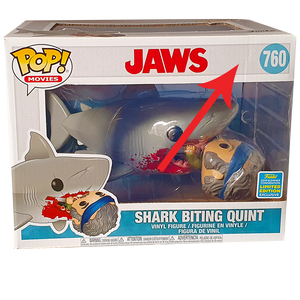 "Jaws - Shark Biting Quint SDCC 2019 Exclusive 6"" Pop! Vinyl Figure"