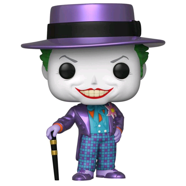 Batman (1989) - The Joker Metallic US Exclusive Pop! Vinyl Figure