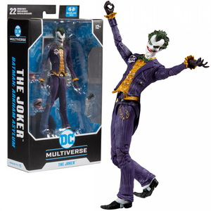 "DC Multiverse Batman Arkham Asylum - The Joker 7"" Action Figure"