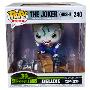 DC Super Villains - The Joker (Hush) (by Jim Lee) US Exclusive Comic Moments Pop! Vinyl
