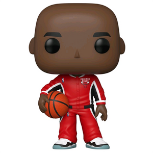 NBA: Chicago Bulls - Michael Jordan Red Warm-Ups US Exclusive Pop! Vinyl Figure