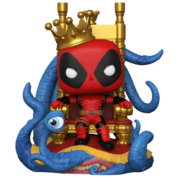 Deadpool - King Deadpool on Throne US Exclusive Pop! Deluxe Vinyl Figure