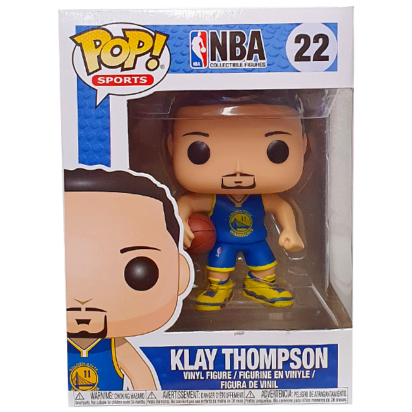 NBA Warriors - Klay Thompson Pop! Vinyl Figure
