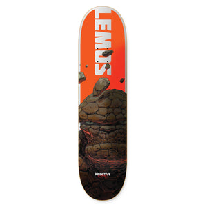 "Marvel - Moebius x Lemos The Thing 8.0"" Primitive Skateboard Deck"