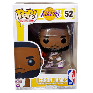 049fc305a5dd Vinyl Figure · NBA  Lakers - Lebron James (White) Pop! Vinyl Figure