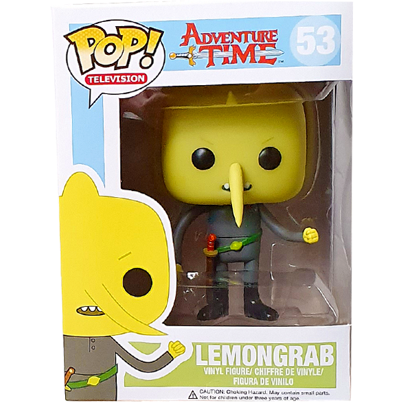 Adventure Time - Lemongrab Pop! Vinyl Figure