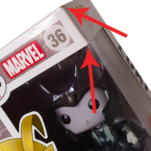 Marvel - Loki (Gold Helmet) (Black & White) US Exclusive Pop! Vinyl Figure