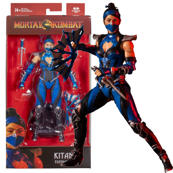 "Mortal Kombat 11 - Kitana 7"" Action Figure"
