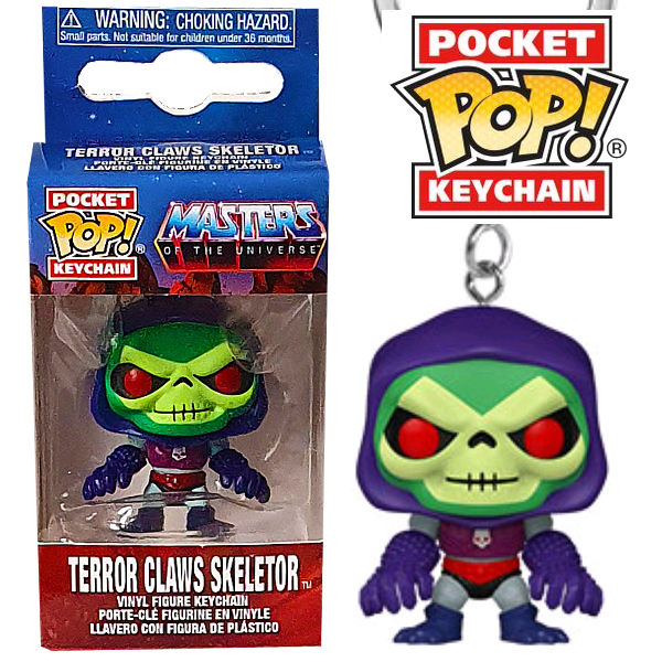 Masters of the Universe - Terror Claws Skeletor Pocket Pop! Keychain