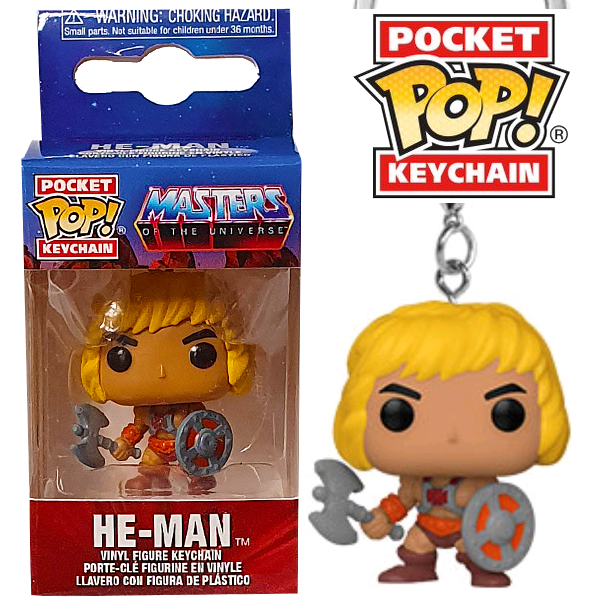 Masters of the Universe - He-Man Pocket Pop! Keychain