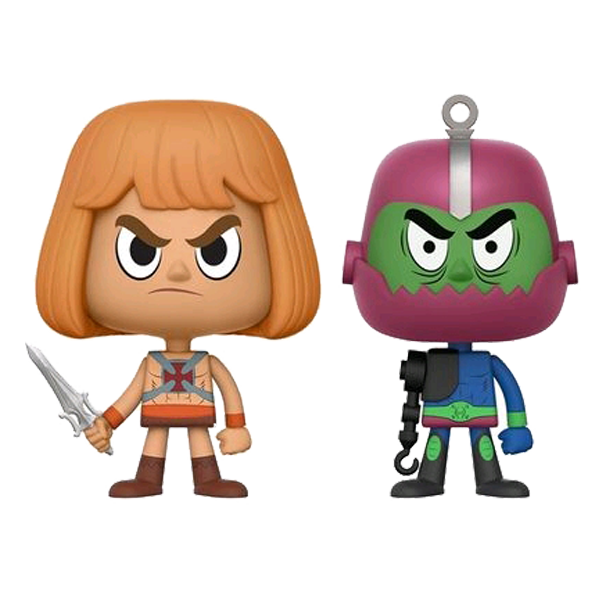 Masters of the Universe - He-Man & Trap Jaw Vynl.
