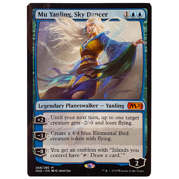 Magic the Gathering TCG - Mu Yanling, Sky Dancer 068/280