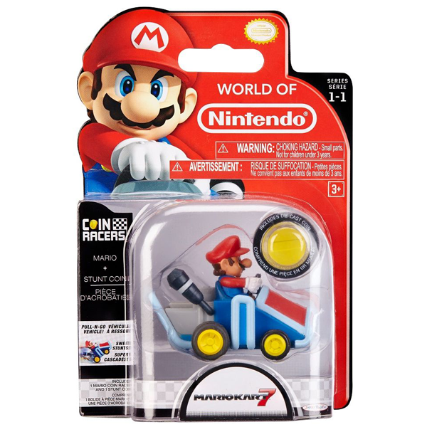 World of Nintendo - Super Mario Coin Racer - Mario