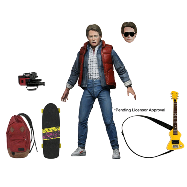 "Back to the Future - Marty McFly Ultimate 7"" Action Figure"
